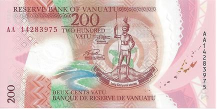 Vanuatu 200Vatu 2014