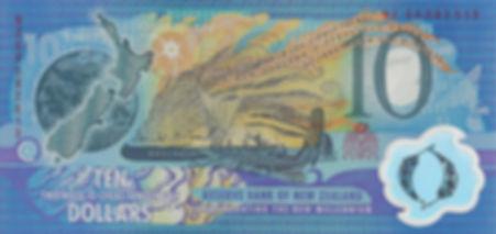 Nouvelle Zélande 10Dollar 1999