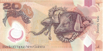 Papouasie Nouvelle Guinée 20Kina 2015
