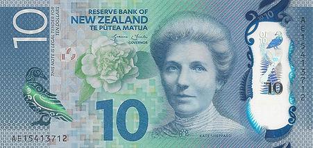 Nouvelle Zélande 10Dollars 2015