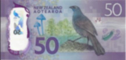 Nouvelle Zélande 50Dollar 2016