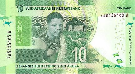 Afrique du Sud 10ZAR 2020 SA8456465 A V.