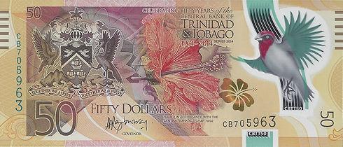 Trinidad et Tobago 50TTD 2014 CB705963 R