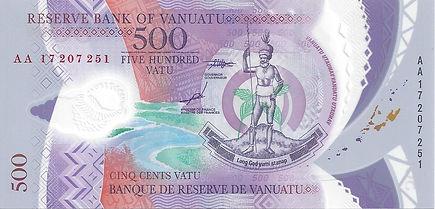 Vanuatu 500Vatu 2017