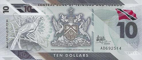Trinidad et Tobago 10TTD 2020 AD692514 R