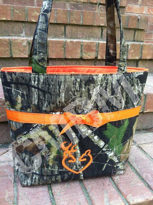 Medium Sized Hunting Camo Handbag