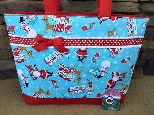 Retro Santa Handbag