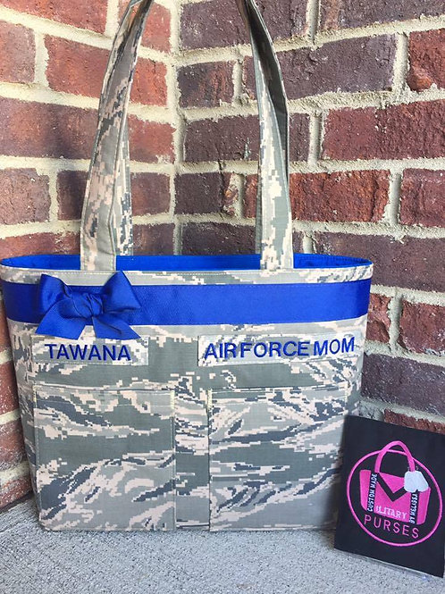Double Pocket Tote - All Camo Types