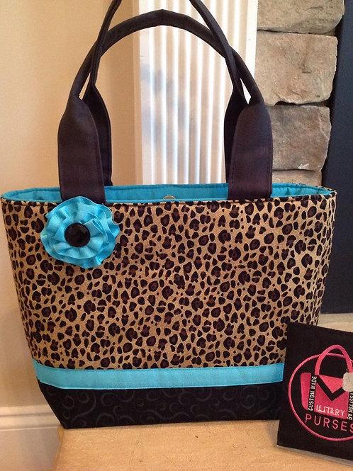 Leopard Print Tote Quick Order