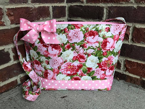 Pink Roses Crossbody RTS handbag
