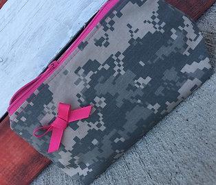 Military Camo Makeup Bag