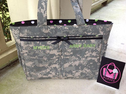 #405 Diaper Bag with Upgrades