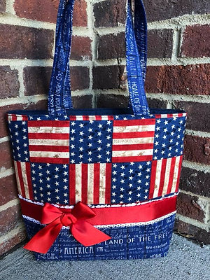 Ready to Ship Patriotic Handbag! $39 Plus Shipping