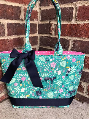 Ready to Ship Jungle Themed Handbag! $30 Plus Shipping!