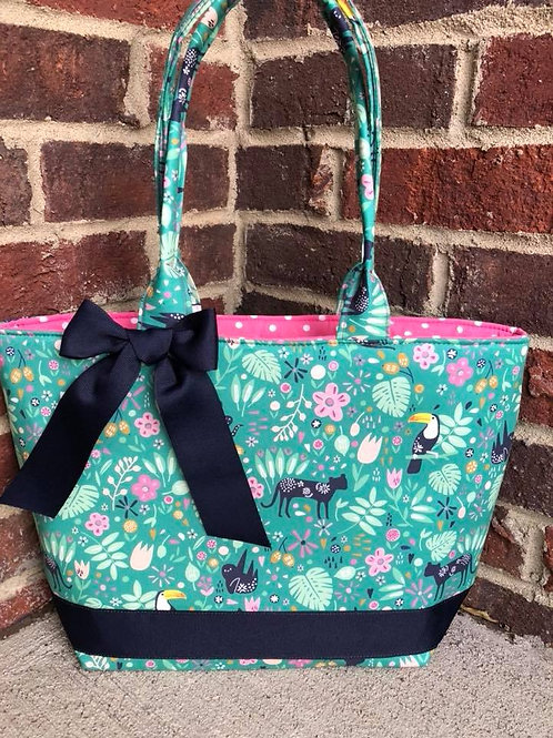 Ready to Ship Jungle Themed Handbag! $30 Plus Shipping!