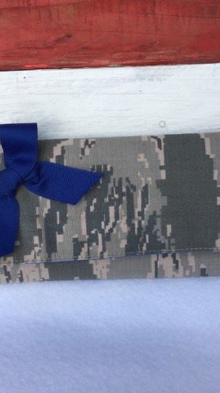 Military Camo Deluxe Wallet