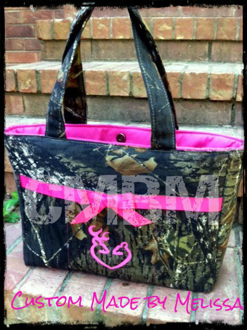 Large Hunting Camo Handbag