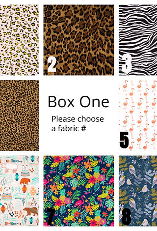 New Upgraded Fabric Choices
