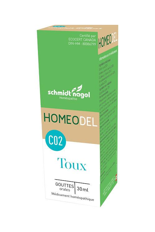 HOMEODEL C02 – Toux