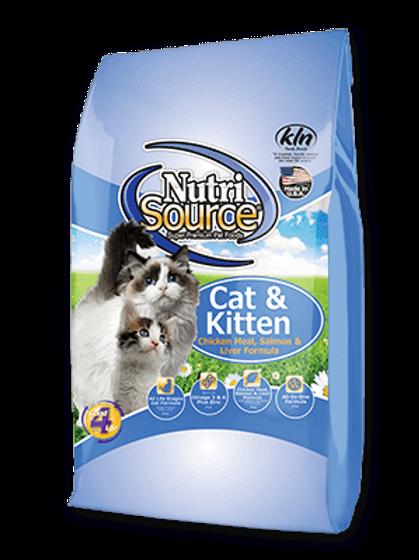 Nutri-Source (Chat/Chaton - Poulet et saumon)