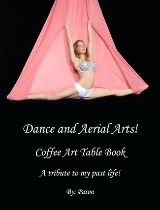 Dance and Aerial Arts Coffee Art Table B