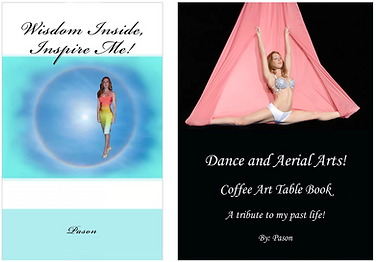 Inspirational books, Trauma to fitness merchandise, Dance and Aerial Arts Book, Fitness Book, Pason Books, Wisdom Inside Inspire Me book, Self Help Books, Dance & Aerial Arts Coffee Art Table Book, Art Books, Pason Author, Amazon Books, Book Sale