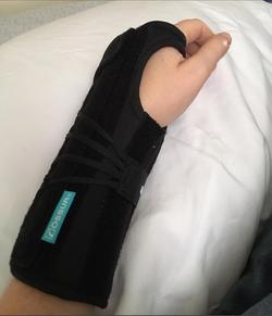 Pason, Fractured Wrist, 2016