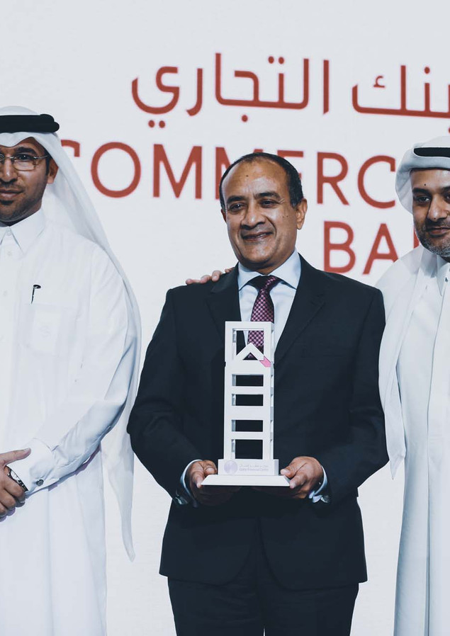 Commercial Bank Qatar.