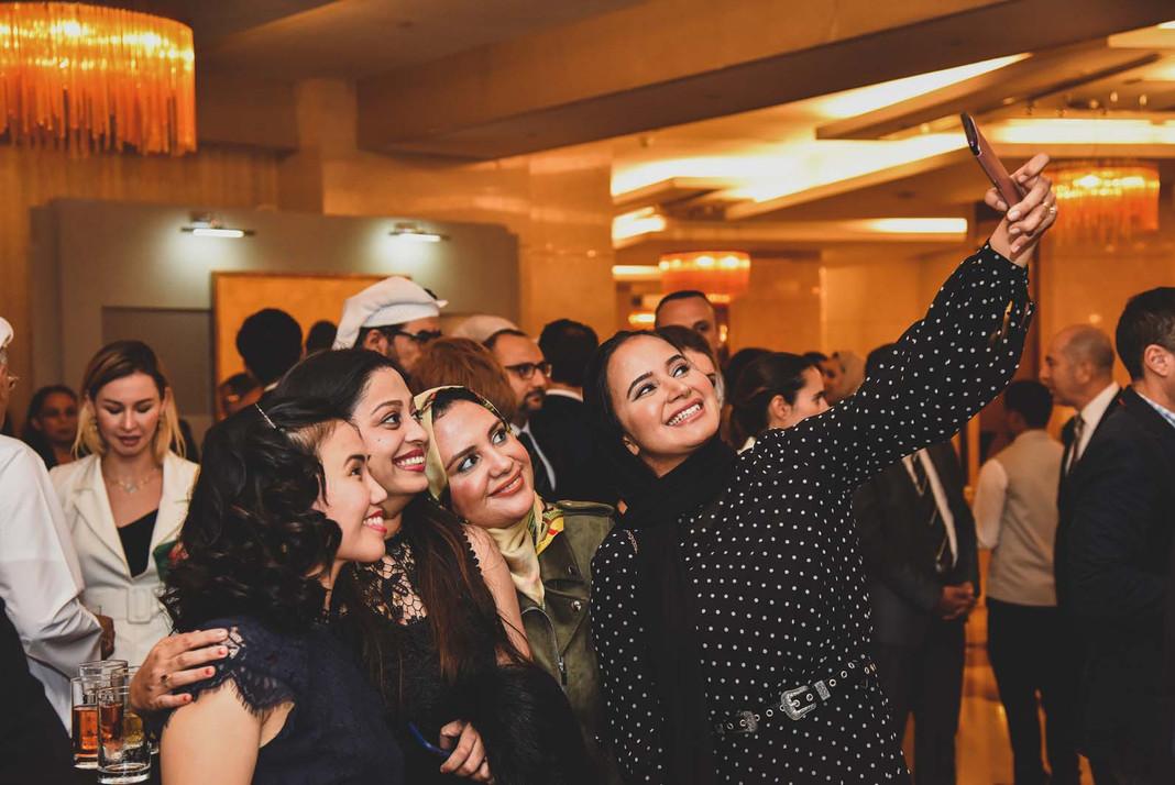 Networking Selfie
