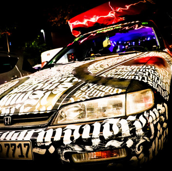 CARligraffiti (Driving Around, Keep Eyes Open)
