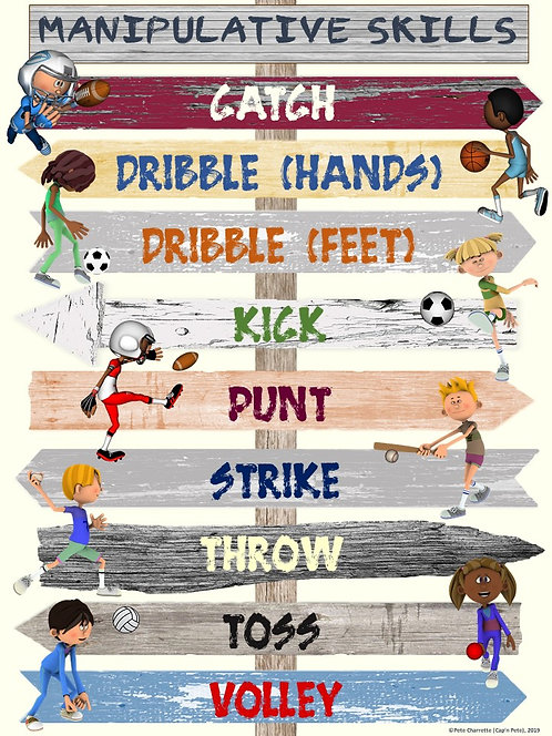 POINTING OUT PE- Manipulative Skills