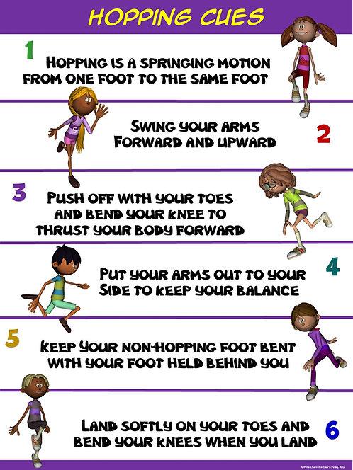 PE Poster: Hopping Cues