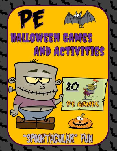 "PE Halloween Games and Activities- ""Spooktacular"" Fun!"