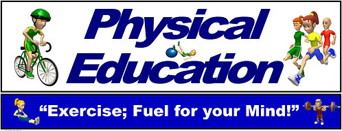 PE Over the Door Banner (Upper Grades): Exercise; Fuel for your Mind