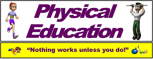PE Over the Door Banner (Upper Grades): Nothing works unless you do!
