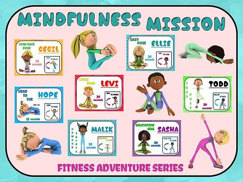 Fitness Adventure Series- Mindfulness Mission: YOGA Poses