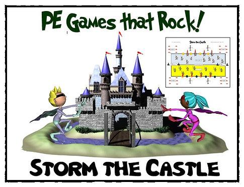 """PE Games that Rock! - """"Storm the Castle"""""""