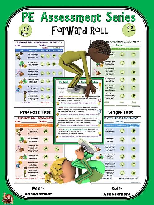 PE Assessment Series: Forward Roll- 4 Versions