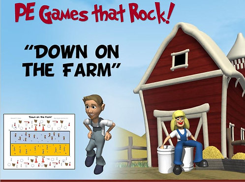 "PE Games that Rock! - ""Down on the Farm"""
