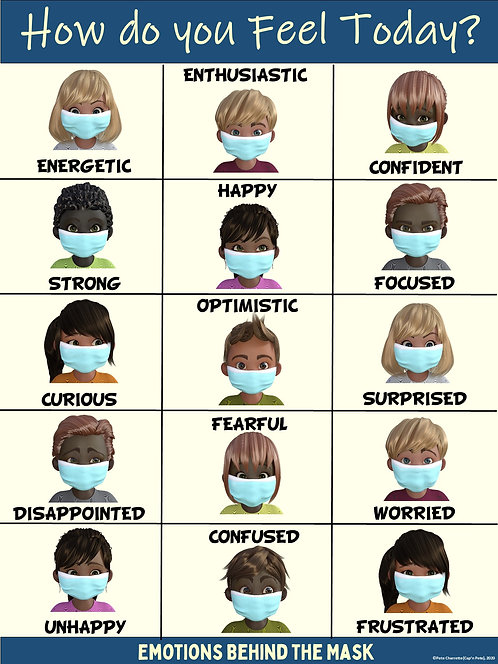 COVID-19 Visual Series- Emotions Behind the Mask (Re-entry to School)
