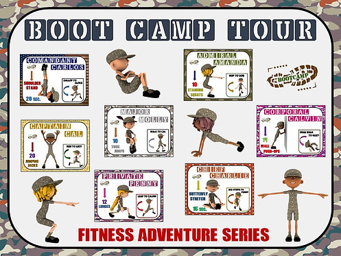 Fitness Adventure Series- Boot Camp Tour