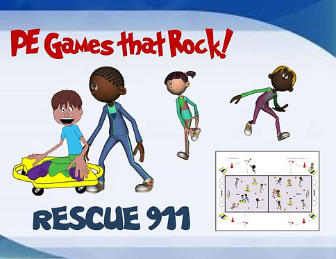"PE Games that Rock! - ""Rescue 911"""