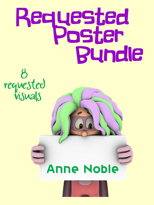 Requested Poster Bundle from Anne Noble