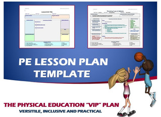 """A Versatile, Inclusive and Practical Lesson Plan Design: The Physical Education """"VIP"""" Plan"""