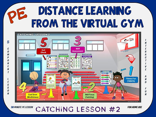 Distance Learning from the Virtual Gym- Catching Lesson #2