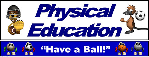 PE Over the Door Banner (Lower Grades): Have a Ball!
