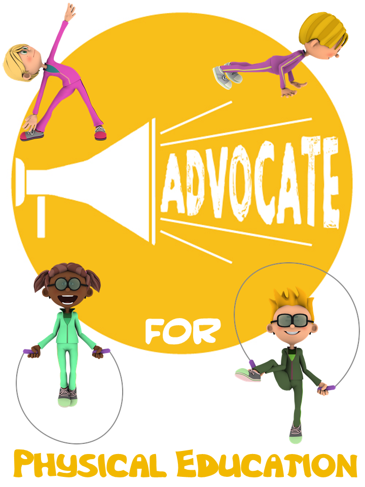 Advocating for Physical Education by Barbara (Kreiss) Grattan | Cap'n Pete's Power PE | Physical Education Resources | PE Visuals