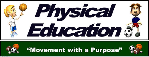 PE Over the Door Banner (Lower Grades): Movement with a Purpose