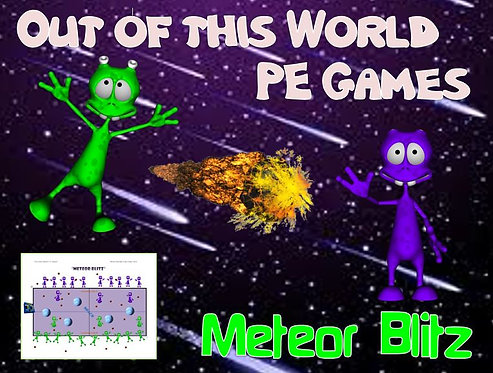 """Out of this World PE Games! - """"Meteor Blitz"""""""