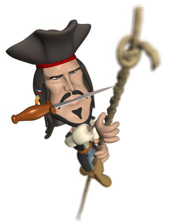Свадьба открытки, картинки анимация пираты